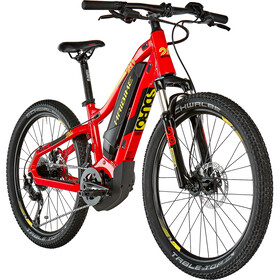 HAIBIKE SDURO HardFour 2.0 Dzieci, red/black/yellow